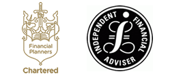 Logos for Chartered Financial Planner and Independent Financial Adviser