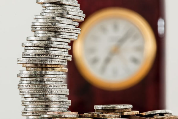 Independent Financial Advisor in Lincoln discusses income protection - picture of coins